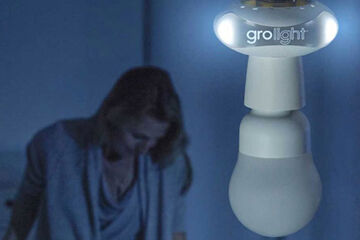 Gro light for breastfeeding at night