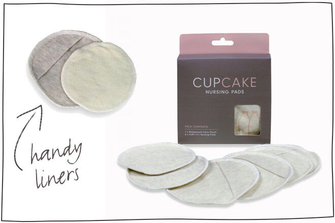 Cupcakes Breast Pads