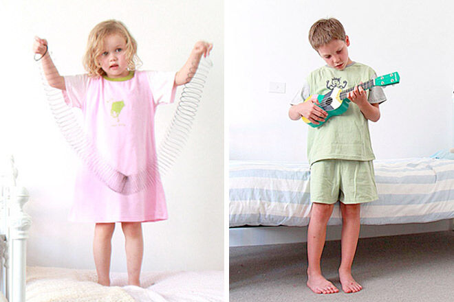 Catnaps Kids Easter pajamas