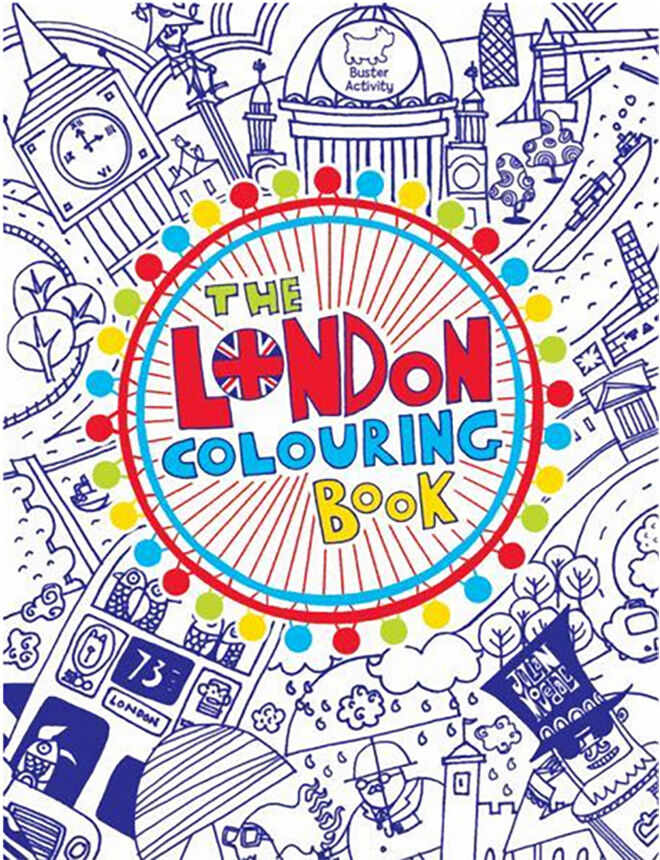 the london colouring book - Colouring Books For Children