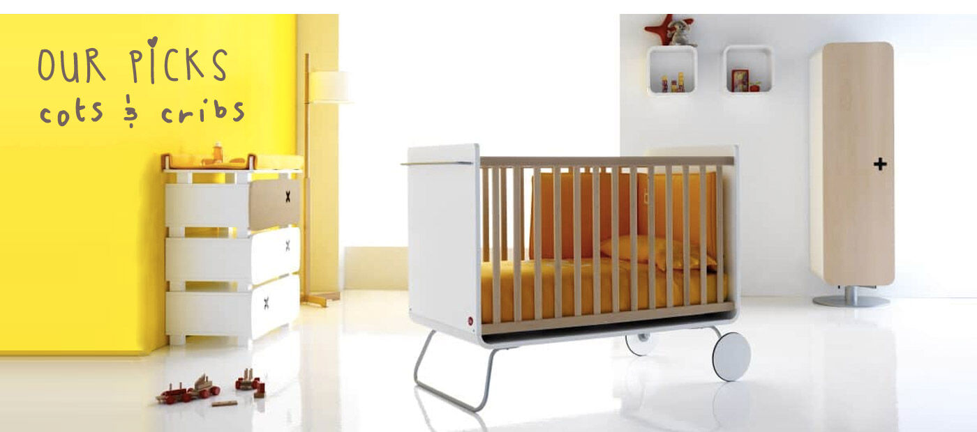 Our picks for buying a cot or crib