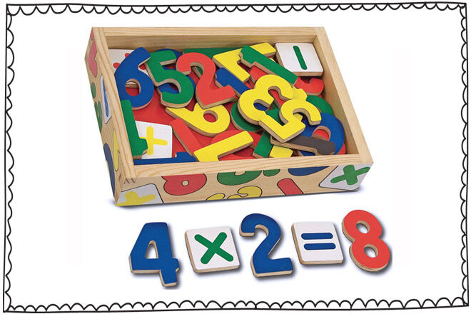magnetic numbers and maths