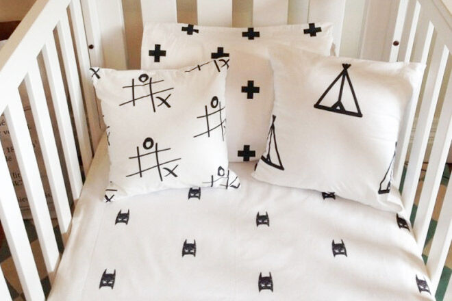 Pink Cot Bed Sheets