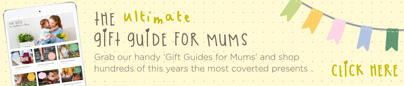 Mums Gift Guide category marquee