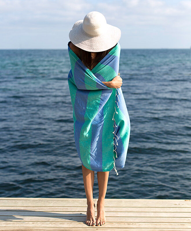 Quality 100% turkish cotton beach wraps from Kalite