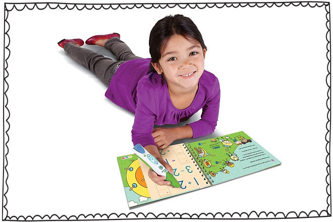Leapfrog Tracing Numbers game