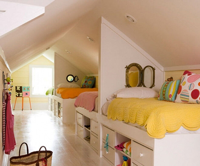 Bedroom Ideas Room Sharing With Baby: 16 Clever Ways To Fit Three Kids In One Bedroom
