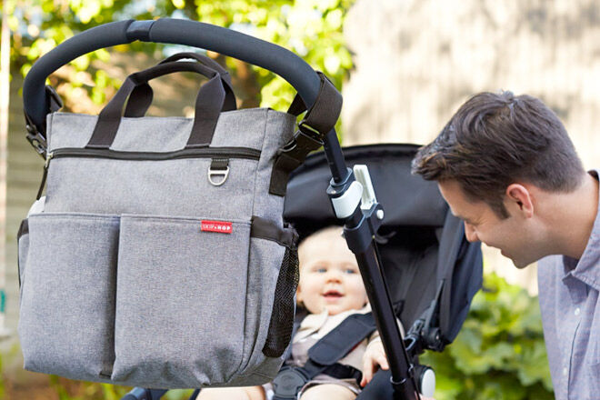 Nappy Bags for dads to wear and carry