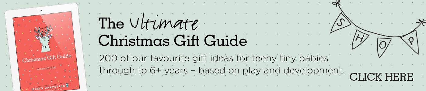 Christmas Gift Guide banner