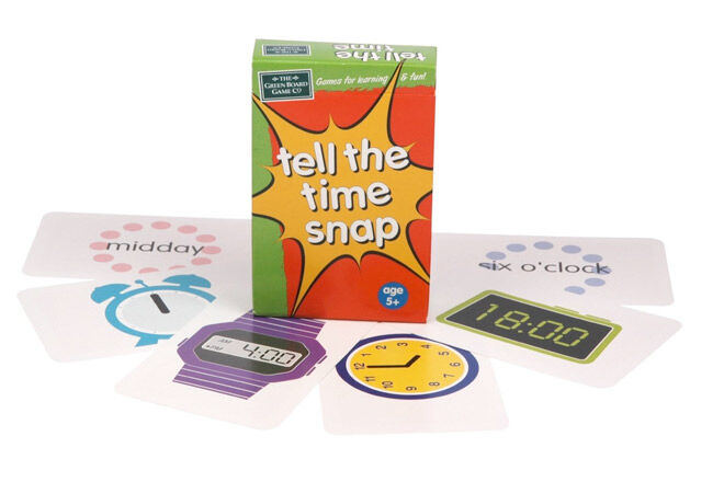 Fun game for kids to learn how to tell the time