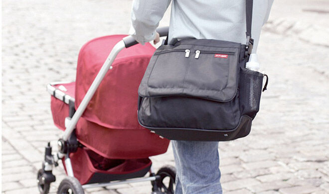 Diaper bag for dads to wear