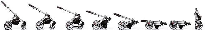 2 in 1 stroller Babybee