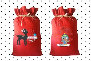 santa sacks for your little elves