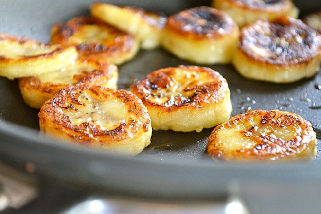 Fried Honey Bananas Recipe