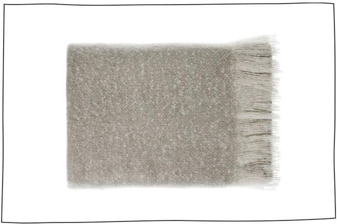 Adairs grey blanket