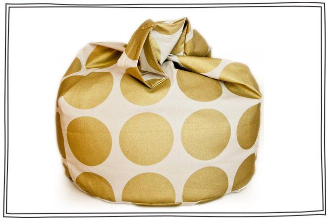 Beanbag Gold Dot