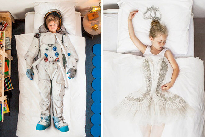 Photographic printed doona sets by Snurk