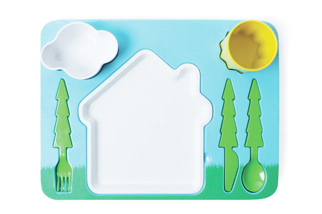 Landscape dinner set by Doiy is ideal for fun times with food