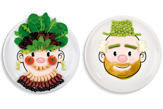 Fun dinnerware for kids from Fred u0026 Friends  sc 1 st  Mumu0027s Grapevine : dinner plates for kids - pezcame.com
