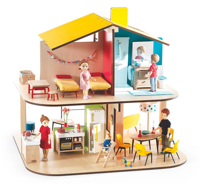 Djeco Colour Doll House
