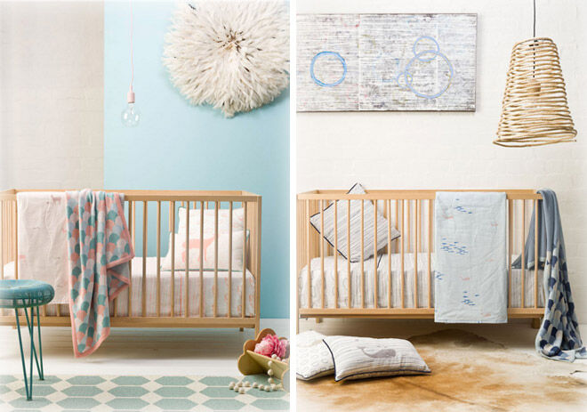 Designer Cot Sheets From Goo Collection