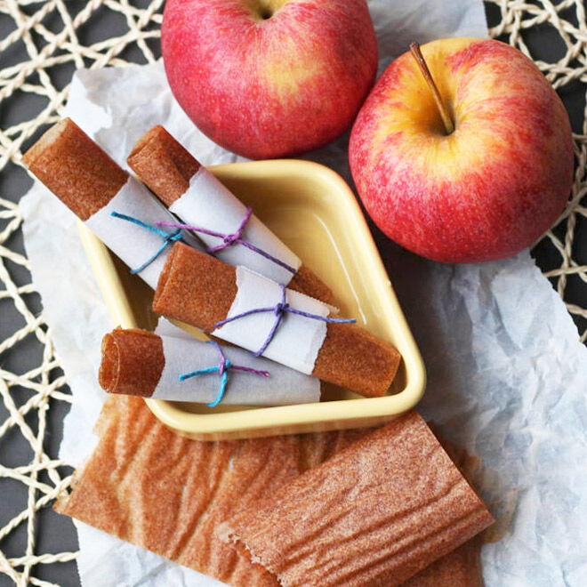 Ultimate recipe for apple, pear & cinnamon fruit roll-ups