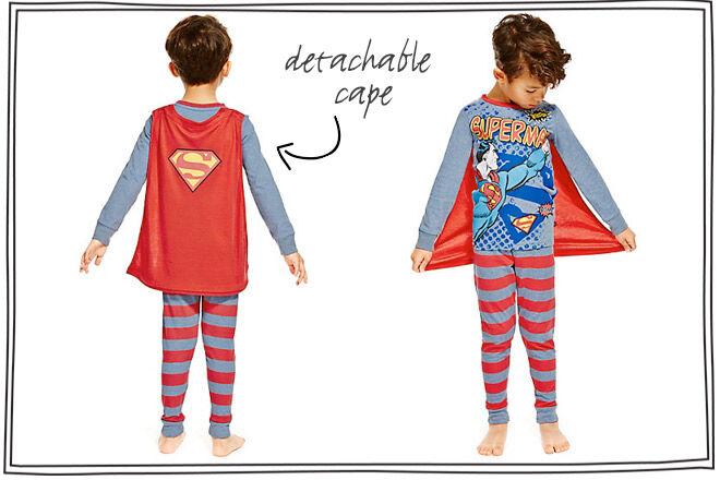 Night Flyer Superhero Pyjamas With Capes Mum S Grapevine