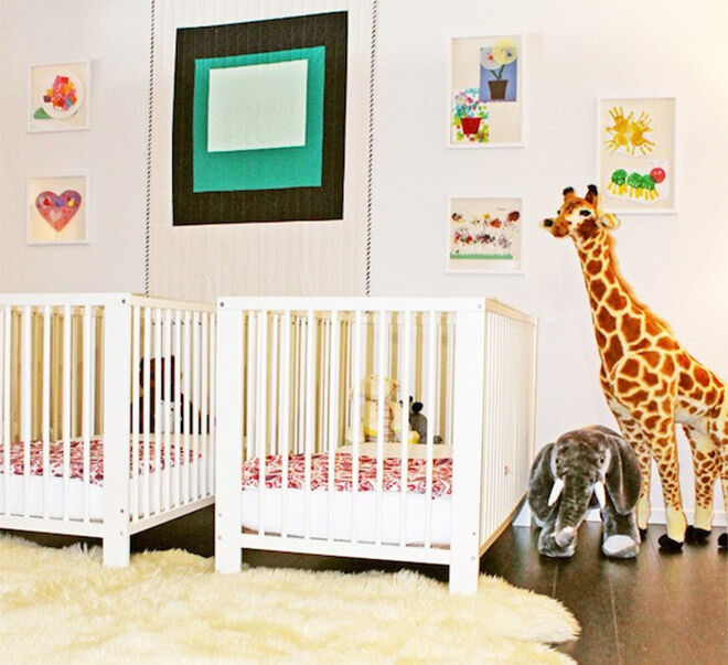 Office Nursery at The Zoe Report