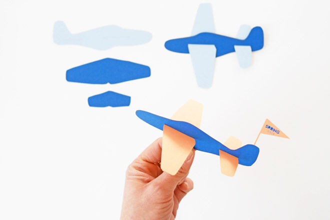 Paper Plane via Hello Wonderful