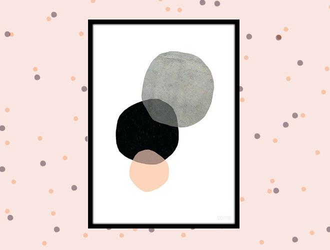 Circles print by Seventy Tree