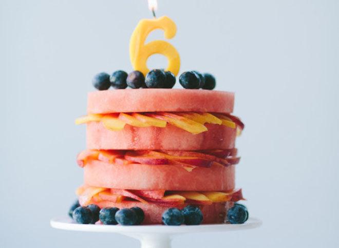 Cakes - fruit