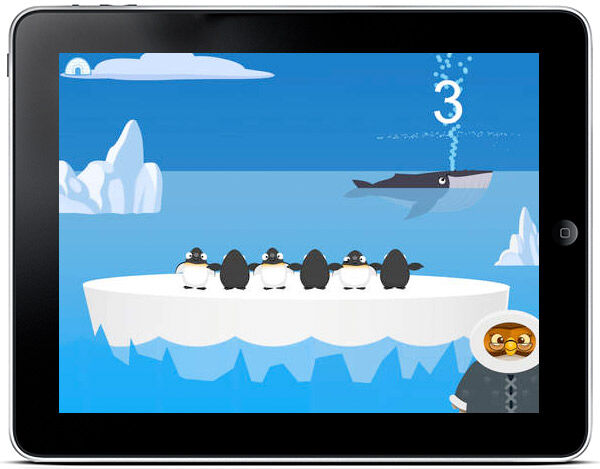 A simple yet fun app for young children learning to count to ten