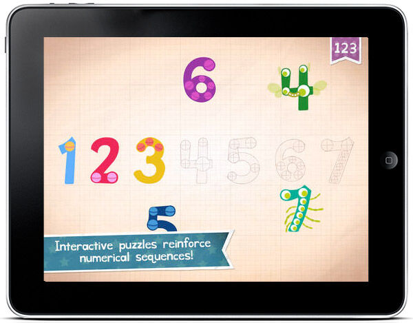 Endless Numbers is an app ideal for early numeracy learning