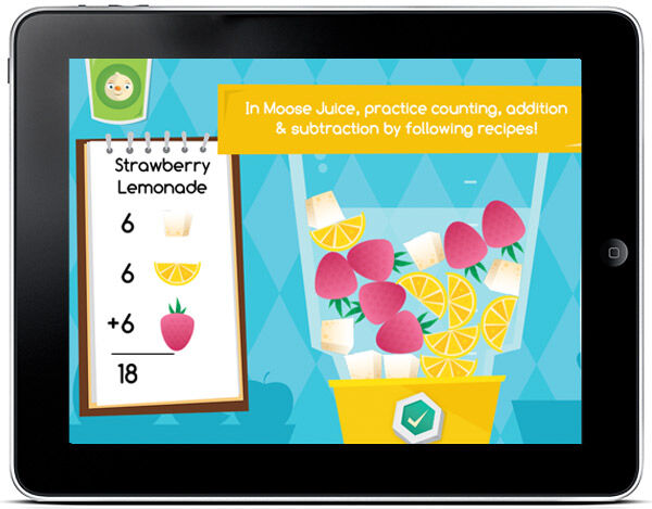 A brilliant app, teaching kids with mathematical adventures