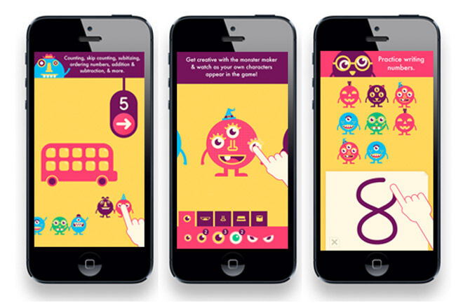 Award winning app that covers the essential foundations of mathematics