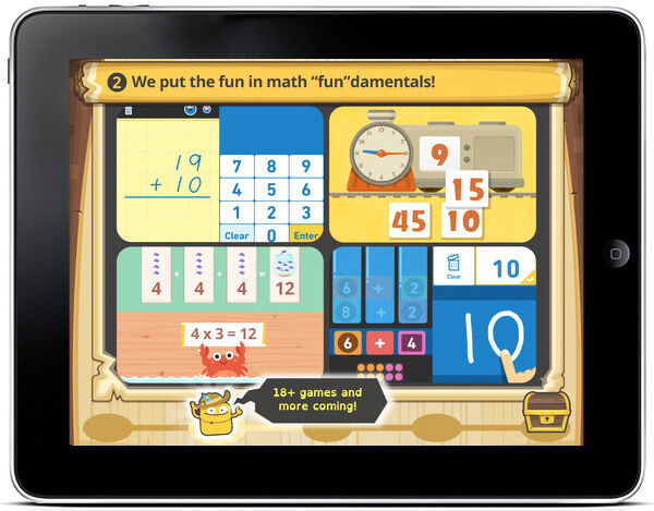 Learn and play at the same time with Todo Math