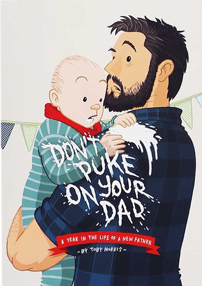 Dadbooks - don't puke on your dad