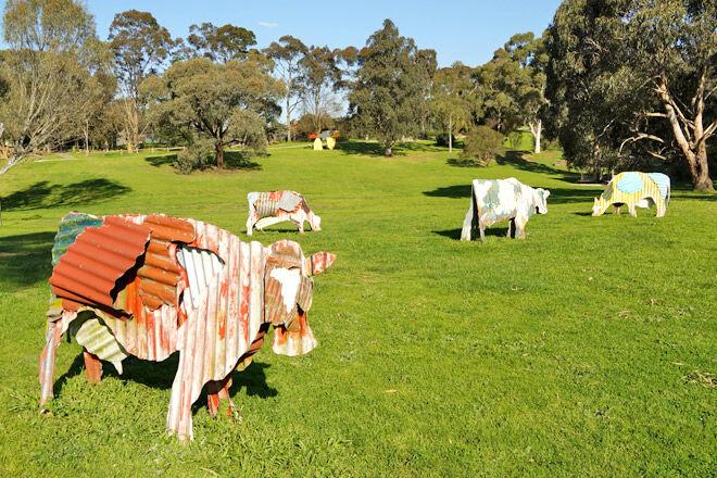 Sculpture Park at Heidi Museum of Modern Art