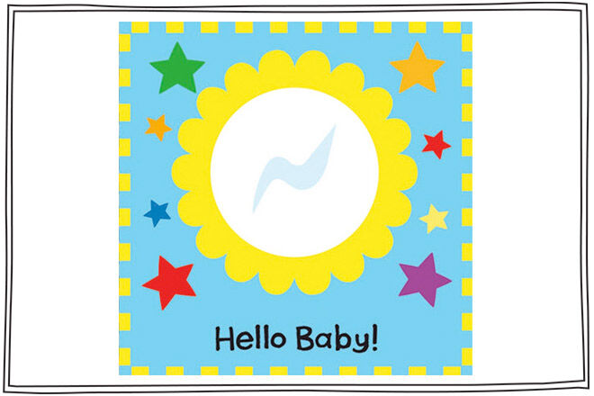 Hello Baby is a great first book for baby with lots of interactive elements including ribbons, mirrors and more