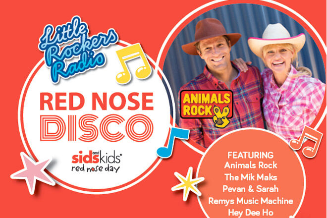 Little Rockers Radio Red Nose Disco