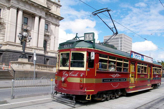 For a fun family day out, take the kids for a spin on Melbourne's Free City Circle Tram