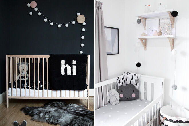 Monochrome Nursery Design Mum S Grapevine