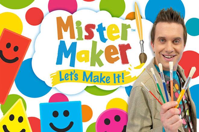 Mister Maker Live at Art Centre Melbourne this Winter School Holidays