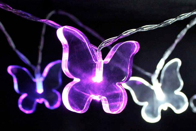 Butterfly Night Lights