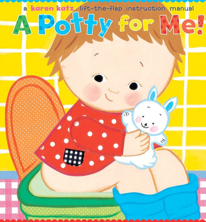 A fun lift-the-flap book all about toilet training