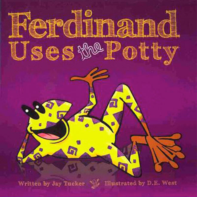 A toilet training tale about Ferdinand the Frog