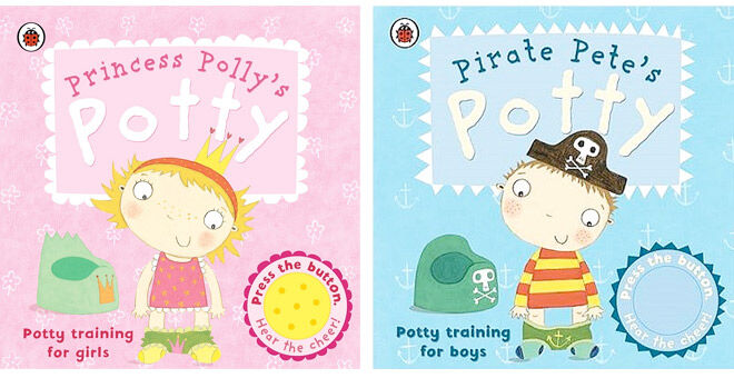 Polly Potty and Pirate Potty are the perfect books to teach little rascals all about toilet training
