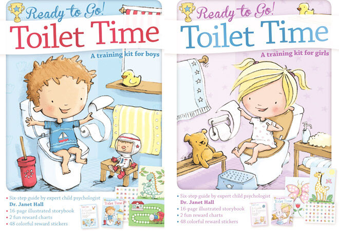 Ready to Go Toilet Time Potty Training Book for Boys and Girls