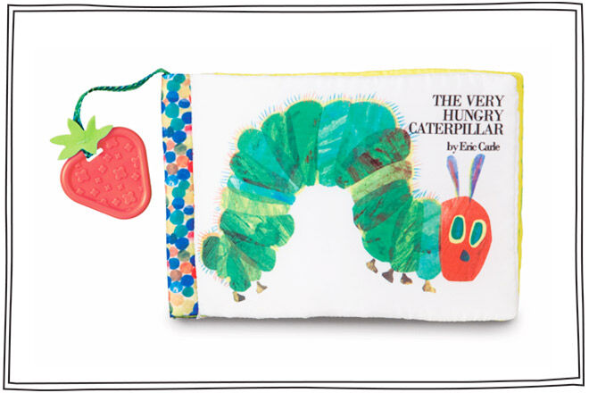 Eric Carle's classic story is turned into a beautiful cloth book for babies