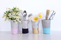 DIY projects out of concrete